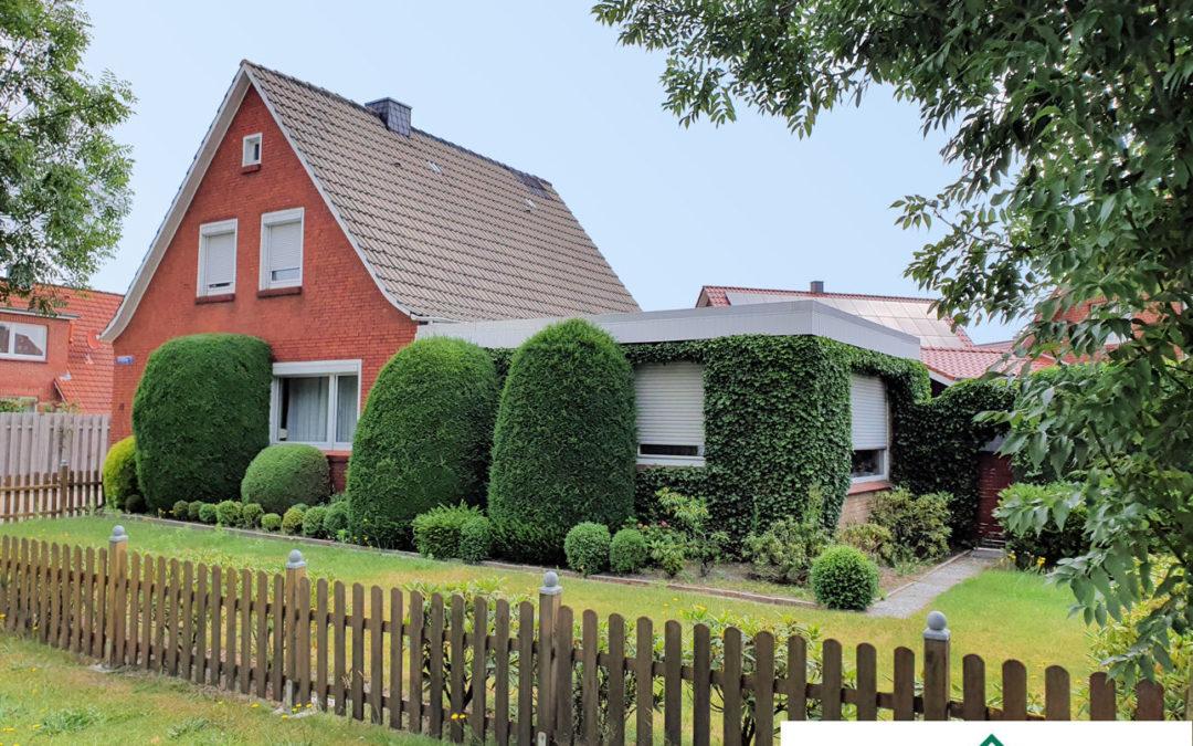 Gemütliches Einfamilienhaus auf pflegeleichtem Grundstück